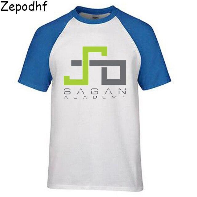 Летняя хлопковая Футболка модная Peter Sagan Academy, Petersaga футболка с коротким рукавом и круглым вырезом для мужчин