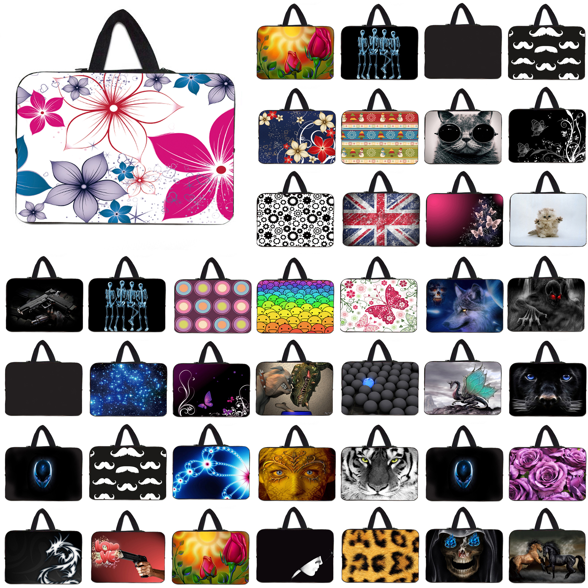 10 Tablets Laptop Liner Sleeve Case Bag For Apple iPad Macbook Chuwi Huawei Tablet 10.1 11.6 12 13 13.3 14 15.4 15.6 17 Netbook