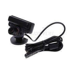 Câmera do sensor de movimento do olho com microfone para sony playstation 3 ps3 sistema de jogo
