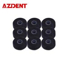 AZDENT 9 шт./упак. бамбуковый уголь зубная нить с мятным вкусом встроенные катушки плоских проволочных поясов для замены основной зубочистка на глубину до 50 м