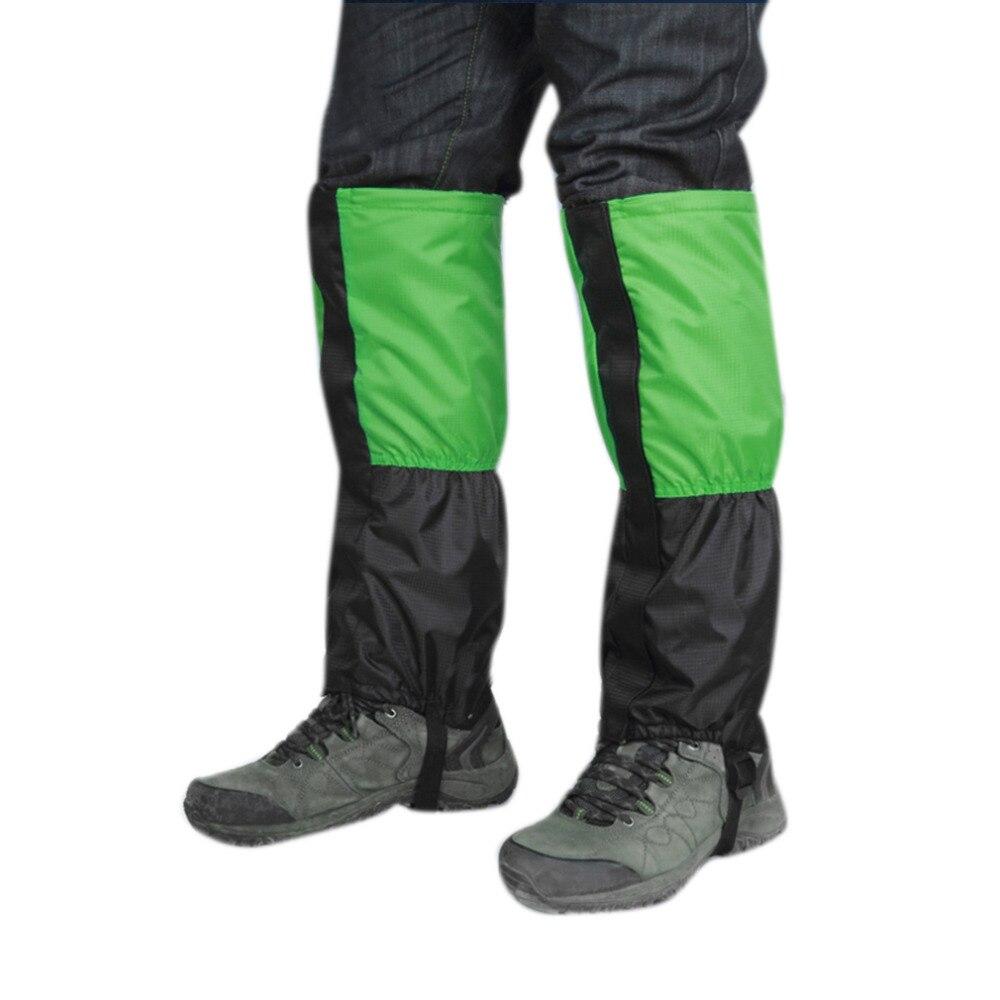 1Pair Waterproof Skiing Gainter Outdoor Hiking Climbing Hunting Trekking Snow Legging Gaiters new arrival|gaiters hiking|gaiters outdoorgaiters waterproof - AliExpress
