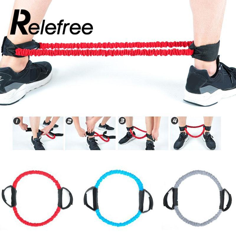 Yoga Tension Rope Elastic Stretchy Springy Leg Band Belt Exercise Fitne