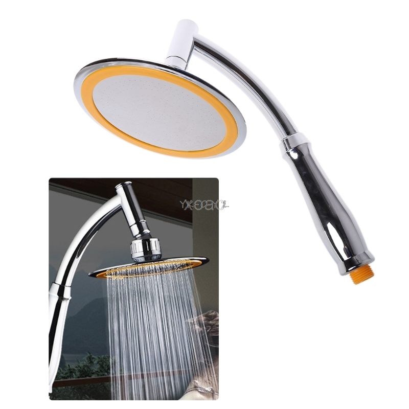 4/6 Inch Bathroom Rainfall Ionic Nano Shower Head Round Chrome Ultra-thin 360 Swivel   M12 Dropship
