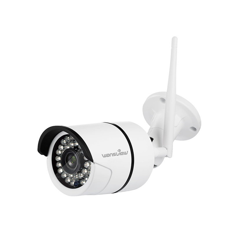 wansview outdoor 1080p 720p wireless security camera wi fi ip surveillance bullet camera. Black Bedroom Furniture Sets. Home Design Ideas