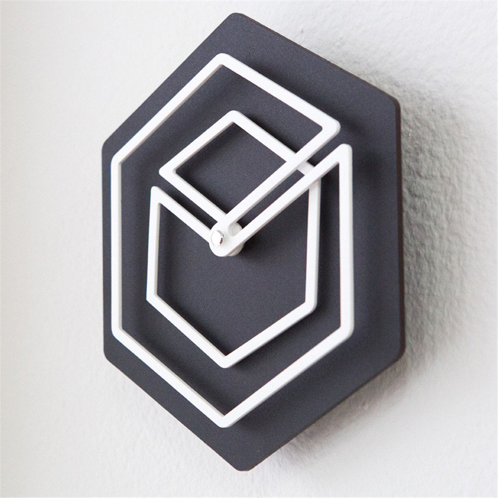 Artistieke Grenen Hout Wandklok Unieke Moderne Minimalistische Klok ...