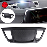 Aluminum Alloy Car Center Control Console Dashboard Speaker Cover Trim for 2016 2017 2018 BMW X1 Interior Moulding Accessories