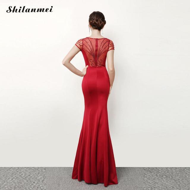 acbf41a18935 Elegante abiti 2018 disegni jacquard delle donne del vestito del merletto  del manicotto del bicchierino del