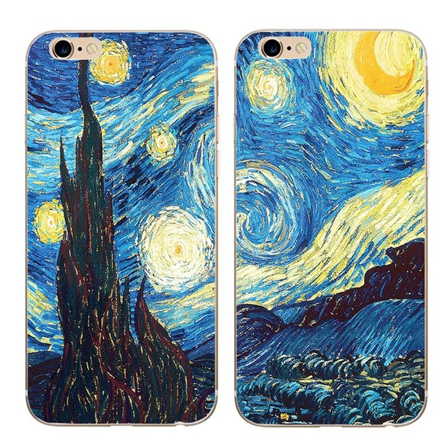 custodia iphone 7 van gogh