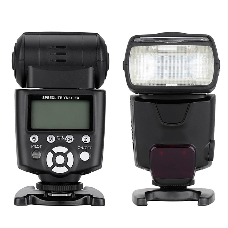YONGNUO Wireless TTL Flash Speedlite for Canon Nikon Pentax Olympus Pana-sonic DSLR Cameras YN-510EX YN510EX Camera Flash selens seven color speedlite filter honeycomb grid with magnetic rubber band for yongnuo canon nikon flash accessories kit