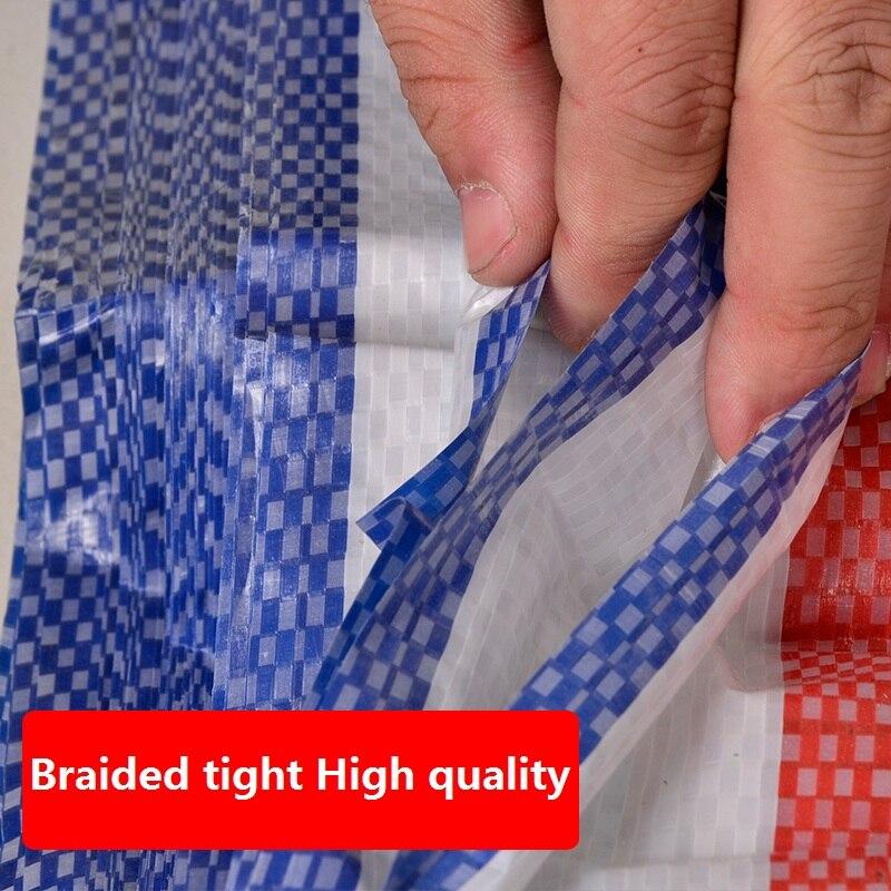 3M x 5 m клеенка 100% водонепроницаемая ткань PE пластик Полин 100% Непромокаемая ткань 3 цветные ленты полоса Прорезиненная Ткань Цветок затенение - 3