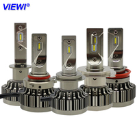 Viewi 2X Bombillas H1 H4 H7 H8 H9 9005 HB3 9006 HB4 Led Headlight Auto 12v