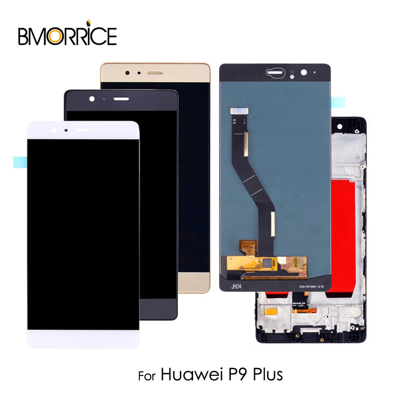 Original LCD Display For Huawei P9 Plus Touch Screen Digitizer Sensor Glass Panel Assembly Replacement without Frame 5.5 inchOriginal LCD Display For Huawei P9 Plus Touch Screen Digitizer Sensor Glass Panel Assembly Replacement without Frame 5.5 inch