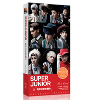 Kpop 2018 Latest Official Super Junior 90 Collectible Postcards Photos K Pop SJ Set Concert SUPERJUNIOR