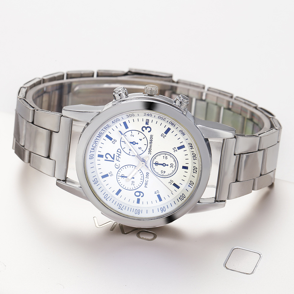 KAYUELI Brand Men Watches Business Quartz Watch Men's Stainless Steel Band 30M Waterproof Date Wristwatches Relogio Masculino Quartz Watches     - title=