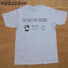 """""""Eat Fruit Not Friends"""" T-shirt"""