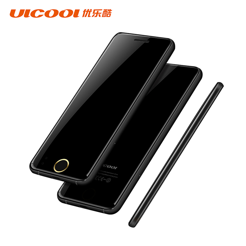 Original ULCOOL V66 Mobile Phone 1.67inch Dustproof Shockproof phone Ultrathin Card Metal Body Bluetooth 2.0 Dialer MP3 Dual SIM