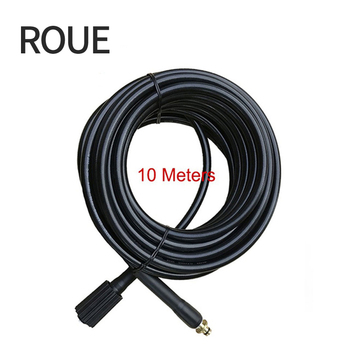 ROUE 10 Meters Working For Karcher K Series High Pressure Washer Hose Quick Connect With Car Gun(moch005)