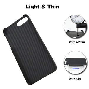 Image 5 - Ultra Thin Colorful Aramid Fiber Case for iPhone X Cover Matte Rubber Carbon Fiber Pattern for iPhone 7 8 7 Plus 8 Plus Case