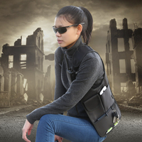 Anti Theft Women Armpits Shoulder Messenger Cross Package Fashion Cool Male Invisible Outdoor Bag Anti Theft