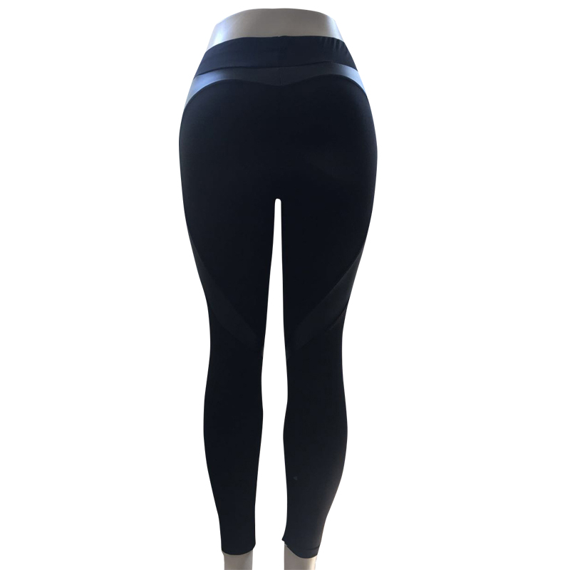 d4793610262 Spring Autumn Women Yoga Pants Elastic High Waist Gym Fitness Leggings Slim  Trousers BHD2