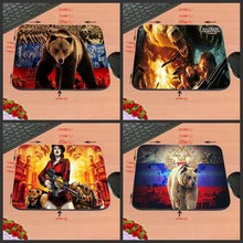 Prime Promoting Excessive High quality Swimming Polar Bears Custom-made Mouse Pad White and Cute Pc Pocket book Laptop computer Gaming Mice Mat Pad