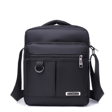 High Quality Waterproof Nylon Business Shoulder Bag For Men 2018 New Solid Crossbody Bags men Black Blue bolso hombre