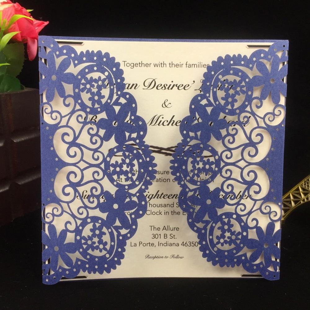 Cheap Blue Wedding Invitations: Online Get Cheap Navy Blue Wedding Invitations -Aliexpress