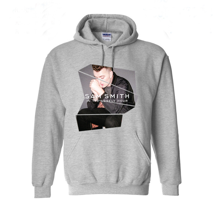 Sam Smith In The Lonely Hour Print Men Hoodies Sweatshirts Long Sleeve Cotton Breathable Clothing Brand Hip Hop Good Quality