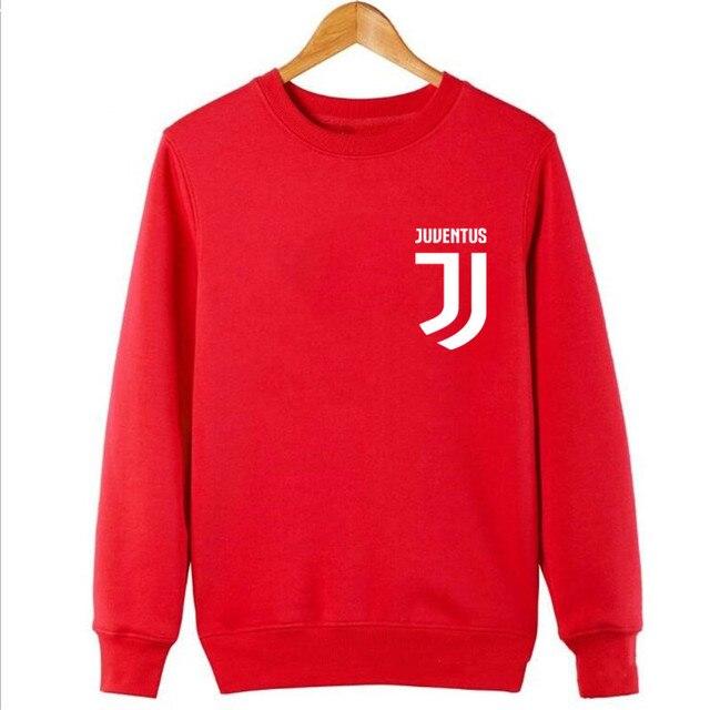 2017 Man Juventus print Sportswear Hoodies male Hip Hop Fleece Long Sleeve Hoodie Slim Fit Sweatshirt Hoodies for men Streetwear 5