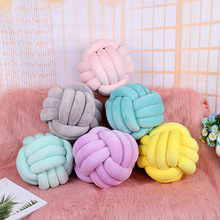 27CM Nordic Knot Pillow Knot Cushion Pillow Knot Decorative Cushion Knot Nursery Decor Home Decor Nordic Kids room decor