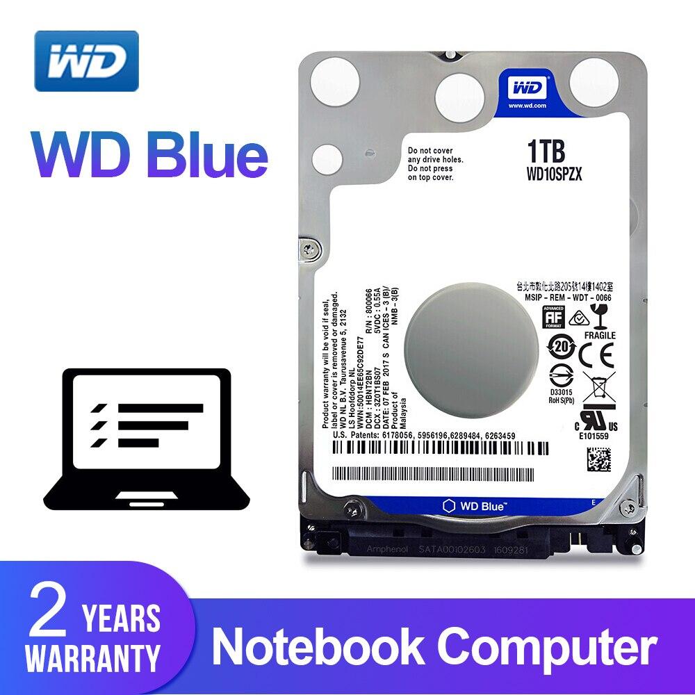 Wd western digital azul 1 tb notebook hdd 2.5