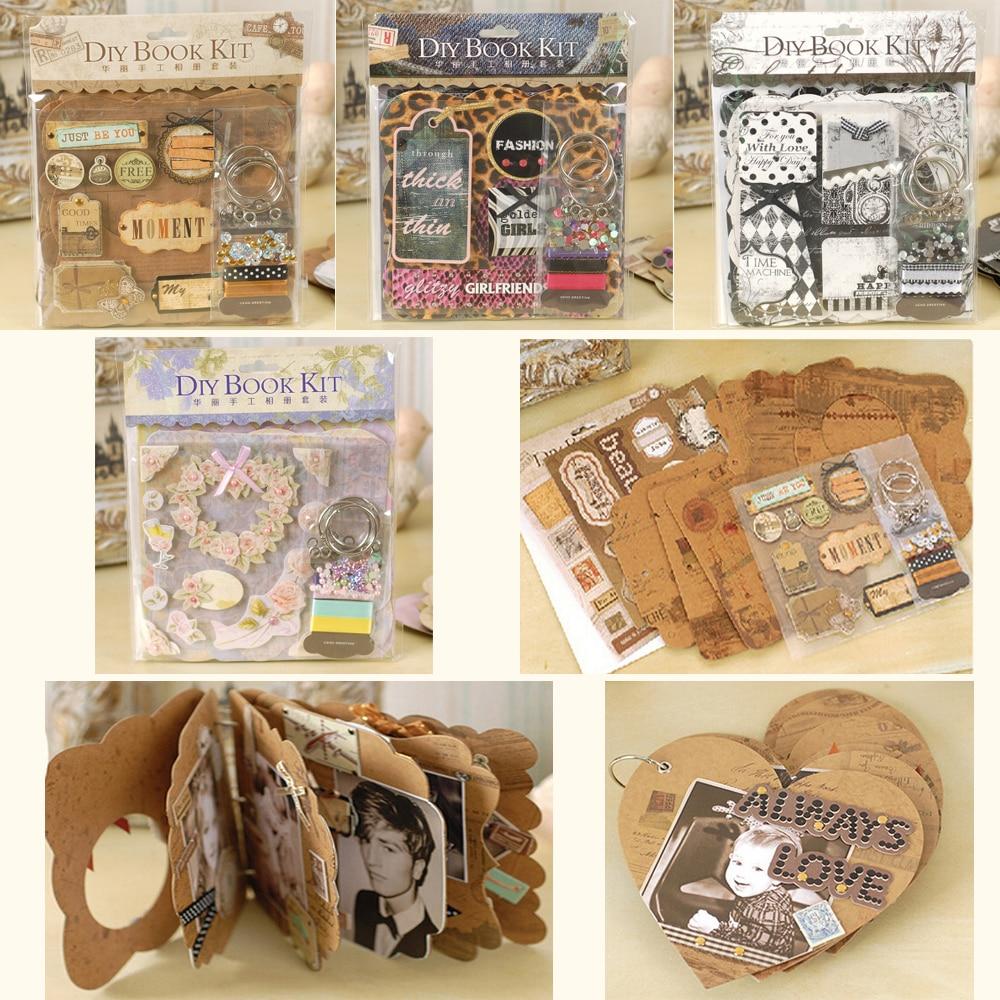 Best Wedding Gift For Girl: Aliexpress.com : Buy Eno Greeting Mini DIY Scrapbook Kit
