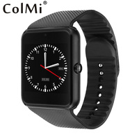 Smart Clock GT08 Watch Sim Card Sync Notifier Bluetooth Connectivity Android Phone Iphone Better Than U8