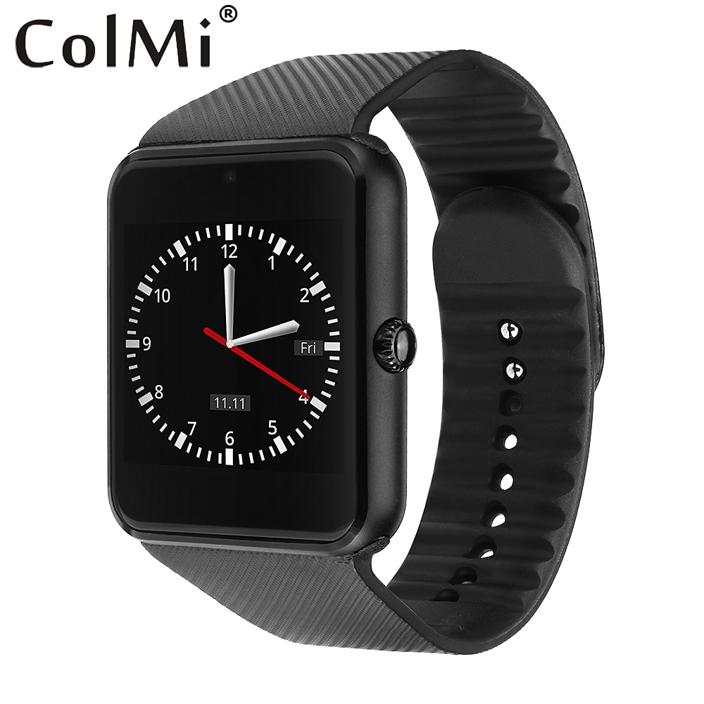 ColMi Smart Watch GT08 Clock With Sim Card Slot Push Message Bluetooth Connectivity Android Phone Smartwatch