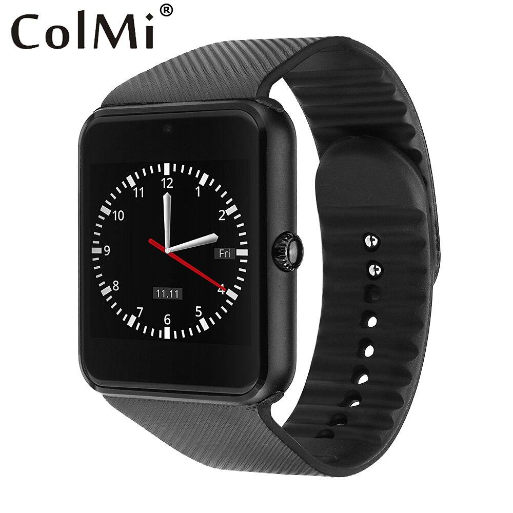 imágenes para GT08 ColMi Reloj Inteligente Reloj Con Ranura Para Tarjeta Sim Empuje Mensaje Conectividad Bluetooth Teléfono Android Smartwatch GT08