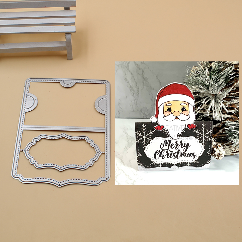 Gift Card Holder <font><b>Cutting</b></font> <font><b>Dies</b></font> <font><b>Christmas</b></font> <font><b>Dies</b></font> Metal <font><b>Cutting</b></font> <font><b>Dies</b></font> Stencils for DIY Scrapbooking Album <font><b>Stamp</b></font> Paper Card Embossing image
