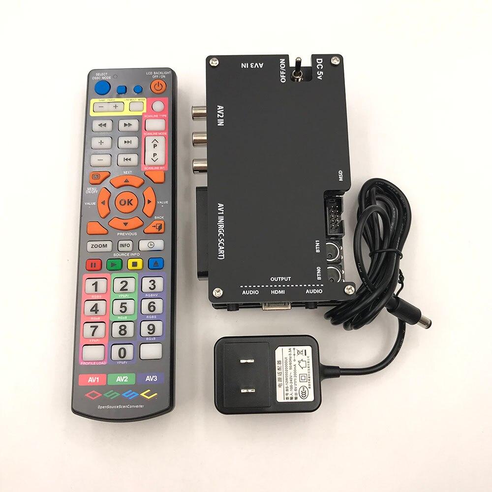 สำหรับ OSSC SCART Component VGA to HDMI เปิด Scan Converter สำหรับ Retro-ใน ชิ้นส่วนและอุปกรณ์เสริมสำหรับเปลี่ยน จาก อุปกรณ์อิเล็กทรอนิกส์ บน AliExpress - 11.11_สิบเอ็ด สิบเอ็ดวันคนโสด 1