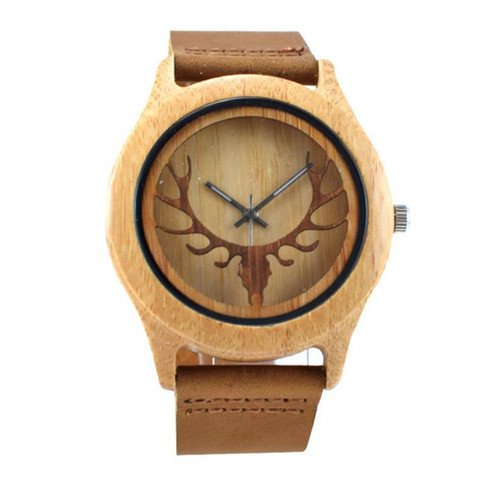 YUELANSHI Wood watch  Hot Sell Men Women Fashion Wooden Watches with Genuine Leather Luxury Quartz WristWatch Gifts Karachi