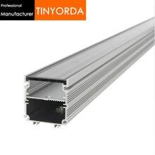 Tinyorda TWH4845 10 шт.(длина 1 м) 36 Вт-45 Вт Санузел свет профиль прожектор радиатор подходит 39 мм PCB [профессиональный производитель]