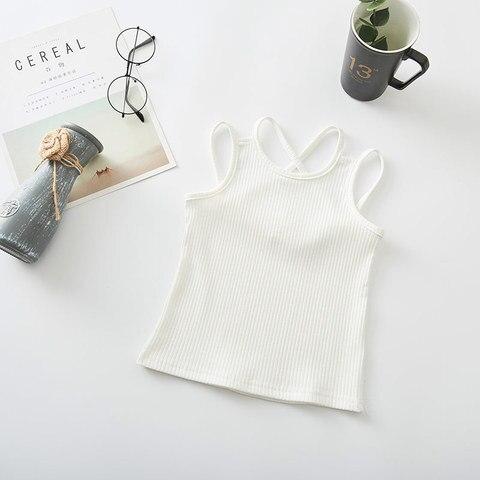 Girls Shirts Cotton Girl Underwear Hallowout Tops For Kids Singlets Summer Children Undershirts Baby Tees Lahore