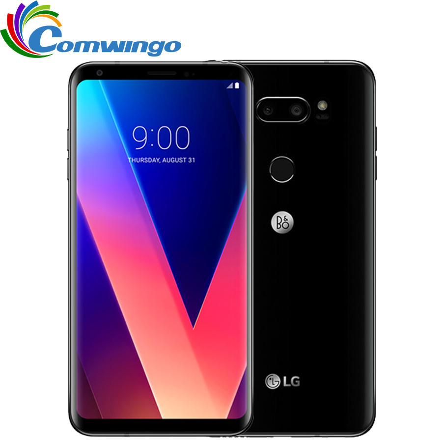 Оригинальный разблокирована LG V30 плюс H930DS H931 Оперативная память 4G B ROM 64 Гб/128 ГБ 4G LTE Android Dual Sim Octa Core 6,0 16MP и 13MP телефон 3300 мАч