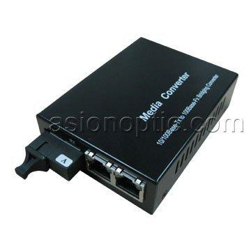 Fiber Media converter 2x10100Base-T To 100Base-Fx