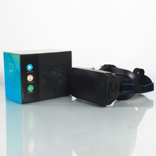 Head Mount Plastic Version VR Virtual Reality Glasses magnet Control Google Cardboard for 3D Movies Games 3.5-6 phone