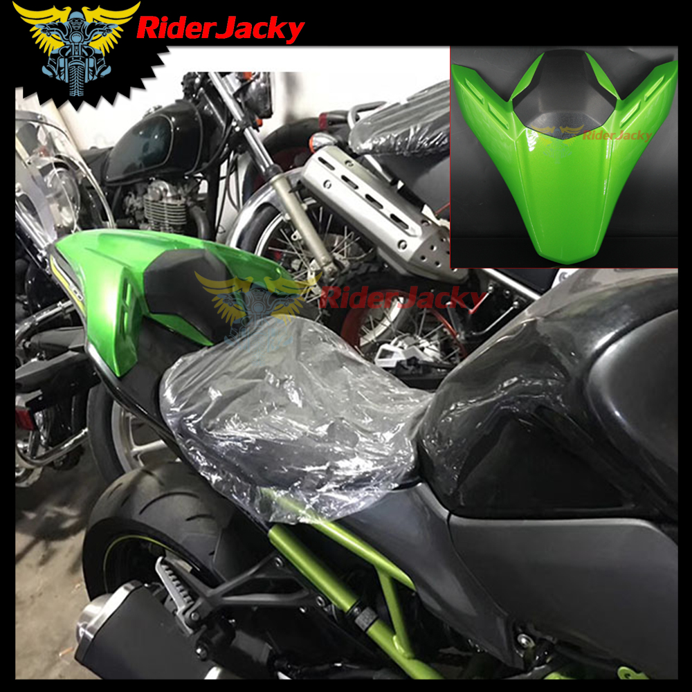 RiderJacky For kawasaki Z900 Z 900 2017 2018 ABS Plastic Green Motorcycle Fairing Rear Seat Cover