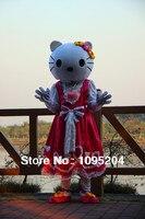 BING RUI CO High quality of hello kitty Mascot Costume hello kitty Mascot Costume,Foam head,no cardboard