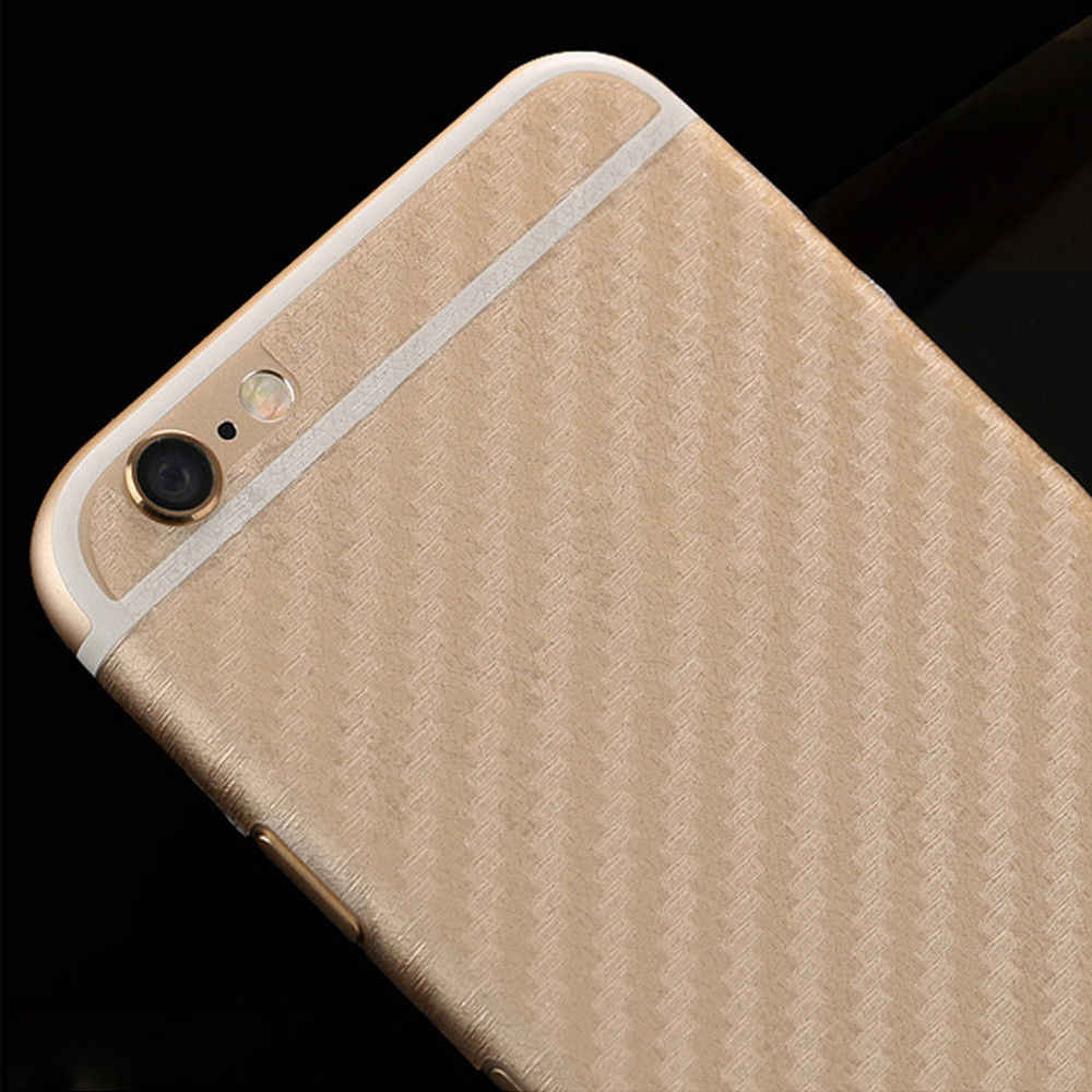 3D Carbon Fiber Rear Screen Protector For iPhone 8 7  X  Back Cover Protective Guard Film Drop Shipping 80