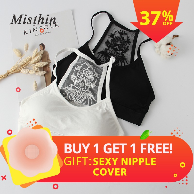 01f096d8bb CMENIN 2018 Cropped Ladies Strapless Tops Printed Lace Ladies Inner  Underwear Sexy Lntimates Solid Black White