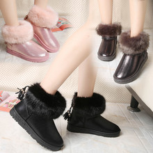 Women Boots Comfortable Winter Warm Waterproof Quality Fashion Ankle Boots Casual Women Snow Boots Winter Shoes Brand 2017 New