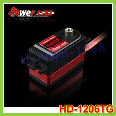 100% original POWER HD-1206TG 7KG 0.06S Digital Servo Instead of SAVOX 1251MG+Free shipping 100% original power hd 1206tg 7kg 0 06s digital servo instead of savox 1251mg free shipping