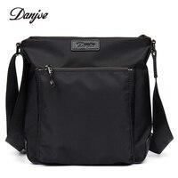 DANJUE Crossbody Bag Male High Quality Oxford Cloth Man Messenger Bag Waterproof Daily Bag Vertical Casual